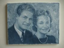 portræt af Verner og Linde